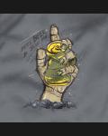 Футболка серая HAND - 2